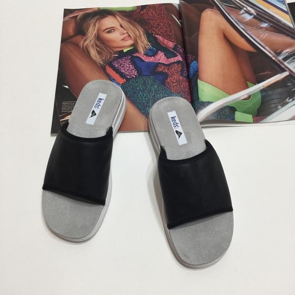 Lycra Sandals Slides Size 55m Black